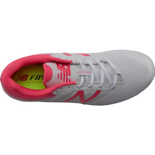 New Balance Women's 4040v1 Low-Cut Metal Fast-Pitch Softball Cleats - view number 4