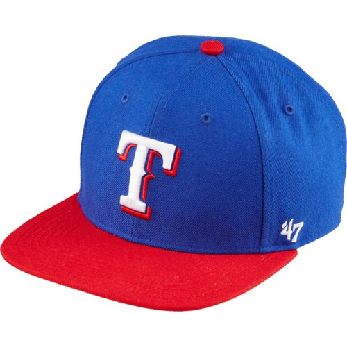 '47 Kids' Texas Rangers Lil Shot 2-Tone Captain Cap - view number 1