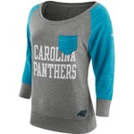 Nike Women's Carolina Panthers Tailgate Vintage Crew Shirt