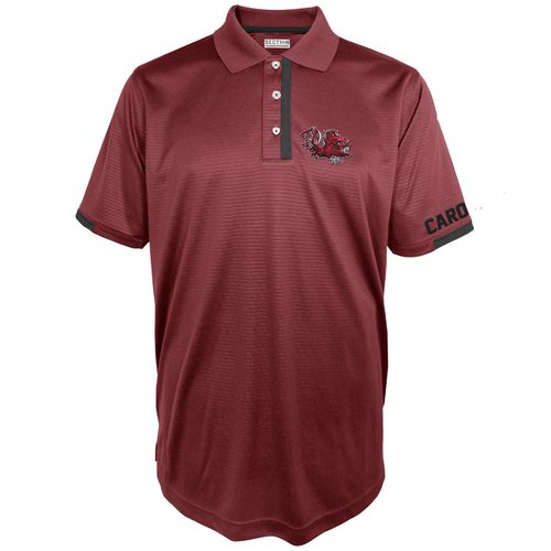 Majestic Men's University of South Carolina Section 101 First Down Polo Shirt
