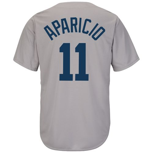 Majestic Men's Boston Red Sox Luis Aparicio #11 Cooperstown Cool Base 1969 Replica Jersey