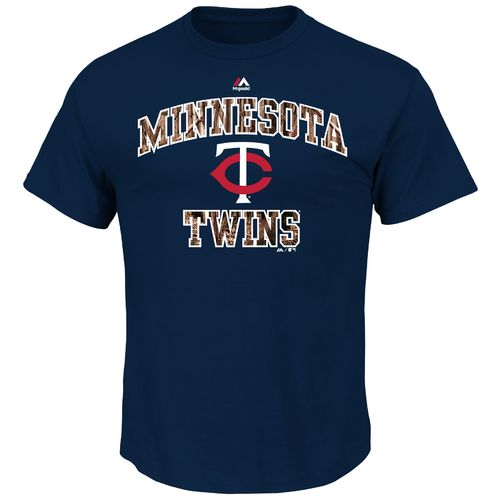 Majestic Men's Minnesota Twins Inside the Box T-shirt
