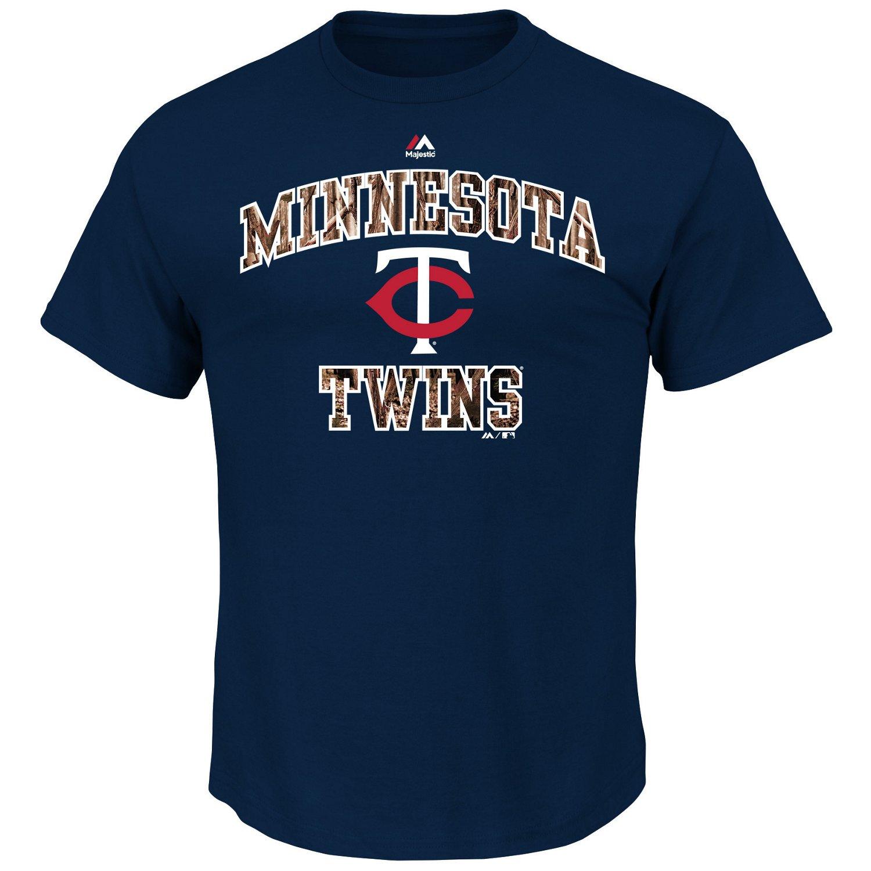 Majestic Men's Minnesota Twins Inside the Box T-shirt