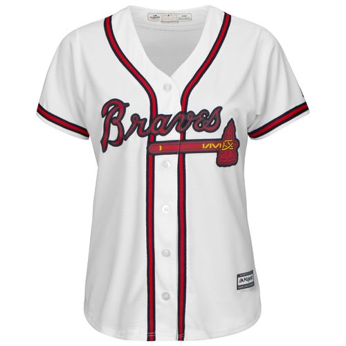 Majestic Women's Atlanta Braves Cool Base Replica Home Jersey