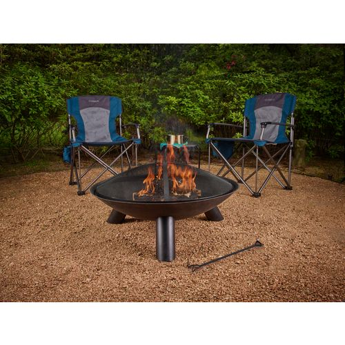Mosaic 35 In Brutus Cast Iron Fire Pit Academy