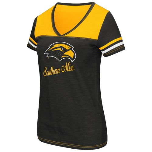Colosseum Athletics™ Women's University of Southern Mississippi Rhinestone Short Sleeve T-s