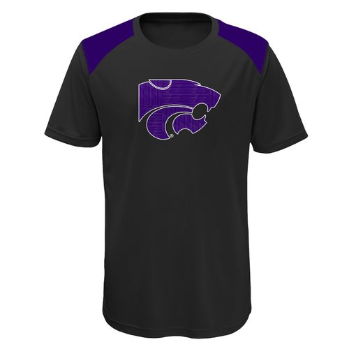 Gen2 Boys' Kansas State University Ellipse Performance Top