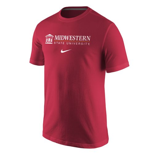 Nike Men's Midwestern State University Wordmark T-shirt