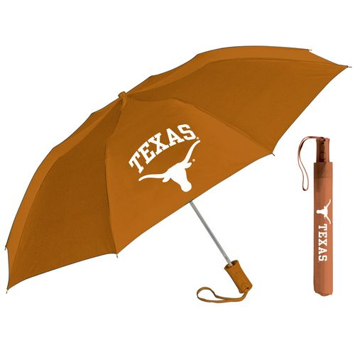 Storm Duds Adults' University of Texas Automatic Folding Umbrella - view number 1