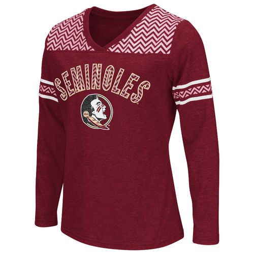 Colosseum Athletics™ Girls' Florida State University Cupie Long Sleeve T-shirt