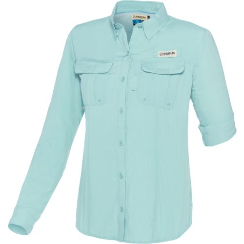 Display product reviews for Magellan Outdoors Women's Fish Gear Laguna Madre Long Sleeve Fishing Shirt