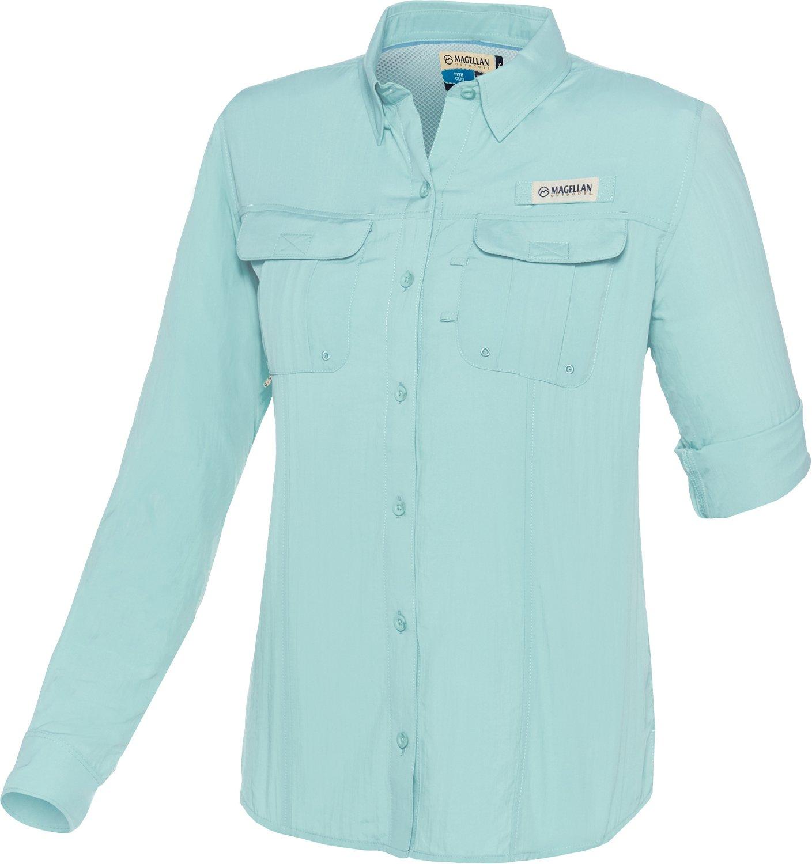 Display product reviews for Magellan Outdoors Women's Fish Gear Laguna Madre Long Sleeve Fishing Shirt