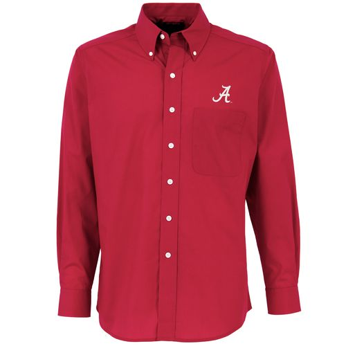 Antigua Men's University of Alabama Dynasty Dress Shirt