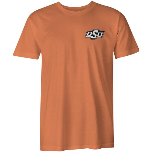 Image One Men's Oklahoma State University State Flag Comfort Color T-shirt - view number 2