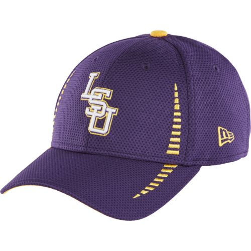 New Era Men's Louisiana State University 9FORTY Speed Adjustable Cap