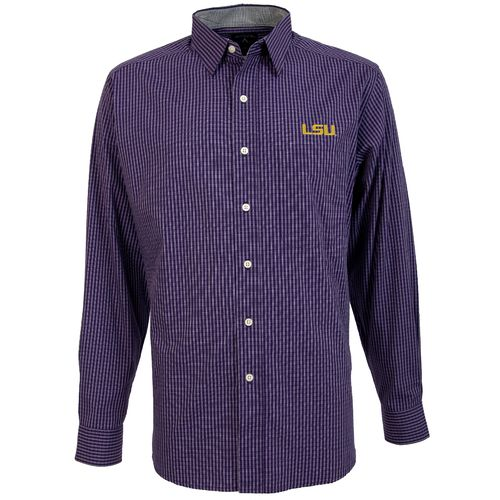 Antigua Men's Louisiana State University Division Dress Shirt