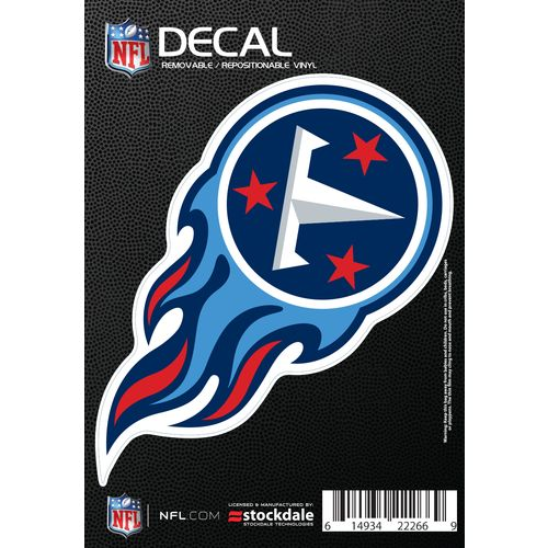 Stockdale Tennessee Titans Single Color Logo Decal