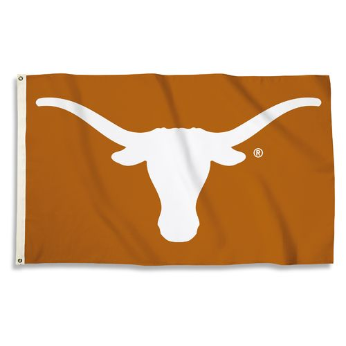 BSI University of Texas 3'H x 5'W Mascot Flag