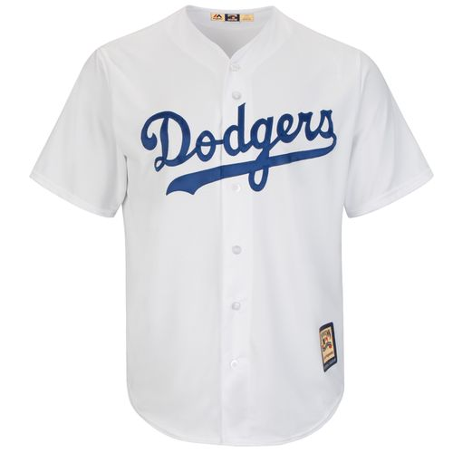 Majestic Men's Los Angeles Dodgers Mike Piazza #31 Cool Base Cooperstown Jersey - view number 3