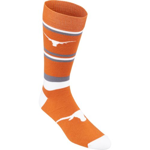 For Bare Feet Men's University of Texas Dress Socks