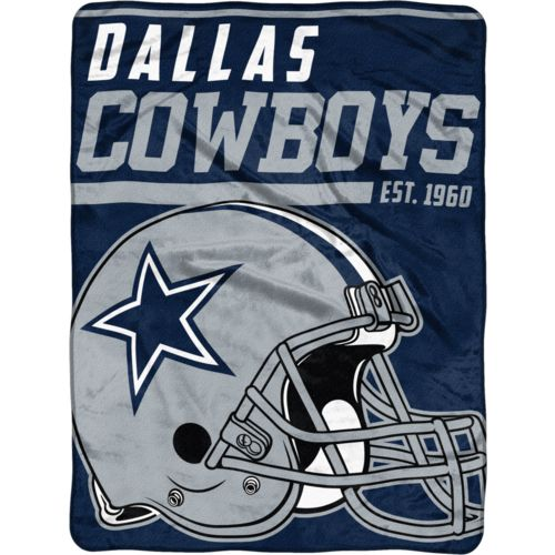 "NFL Dallas Cowboys 40-Yard Dash 46"" x 60"" Micro Raschel Throw"