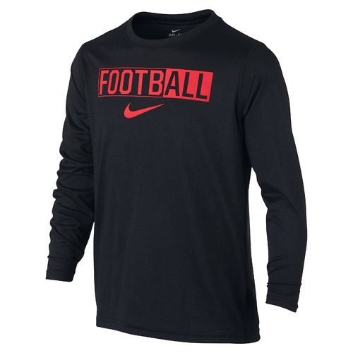 Nike™ Boys' Legend Long Sleeve All Football T-shirt