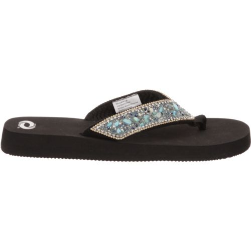 O'Rageous Women's Chain Stones Sandals