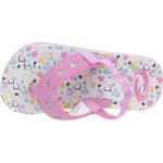 O'Rageous Toddler Girls' Hearts Flip-Flops - view number 4