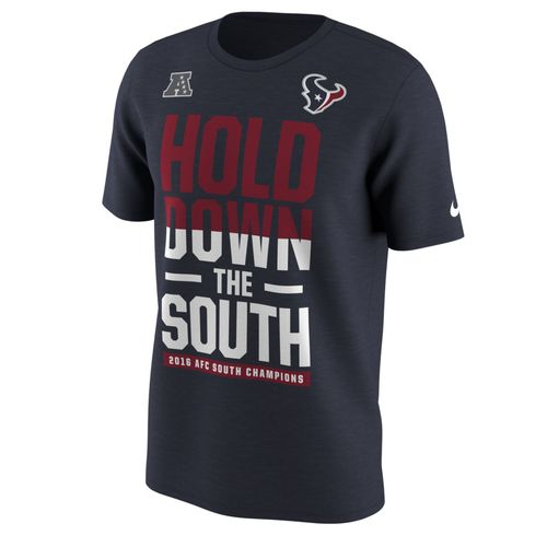 Nike Men's Houston Texans 2016 AFC South Division Champions T-shirt