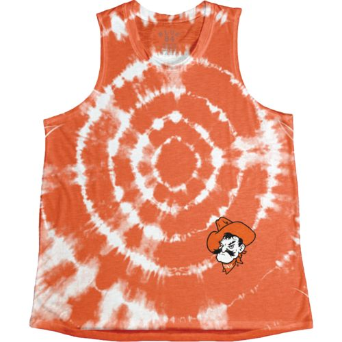 Blue 84 Women's Oklahoma State University Retro Liquid Muscle Tank Top