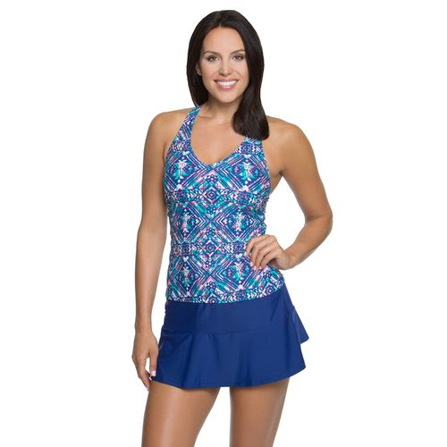 BCG Women's Making Waves Tankini Swim Top