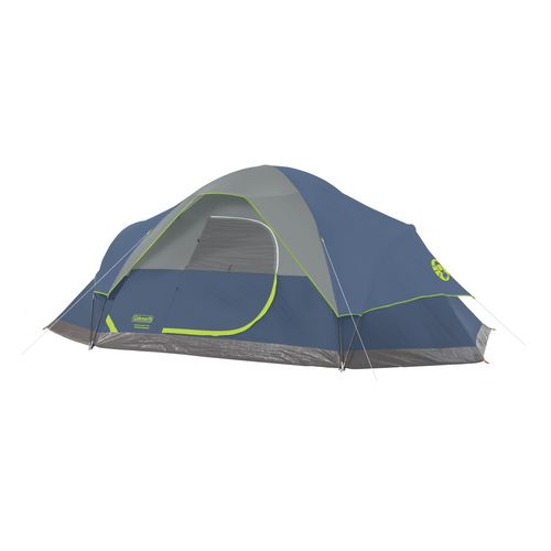coleman iron peak 8 person dome tent