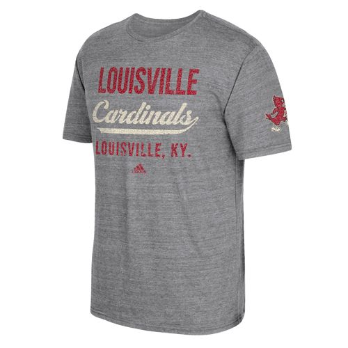 adidas Men's University of Louisville Stenciled Sweep T-shirt - view number 1