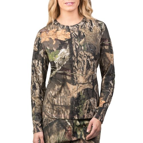 Walls Women's Camo Long Sleeve T-shirt