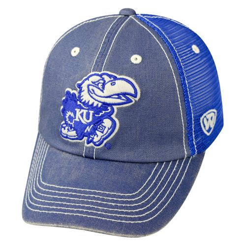 Top of the World Men's University of Kansas Crossroad TMC Cap