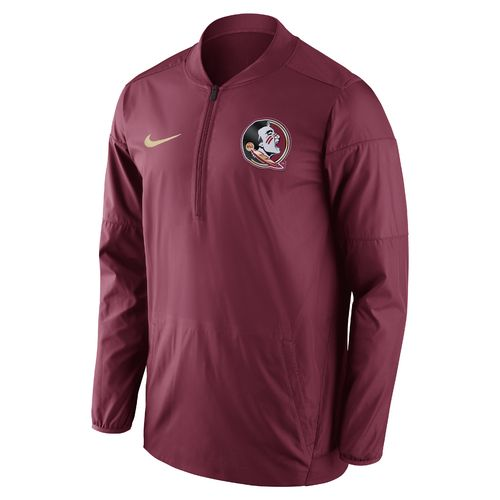 Nike Men's Florida State University Lockdown 1/2 Zip Jacket