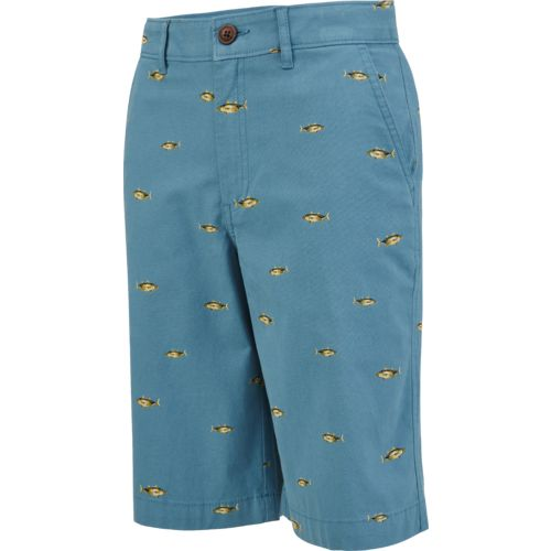 Magellan Outdoors Boys' Summerville Poplin Printed Short - view number 3