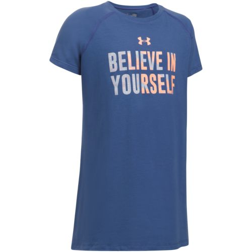 Under Armour Girls' Believe in Yourself Short Sleeve T-shirt