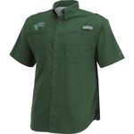 Columbia Sportswear Men's University of North Texas Tamiami™ Short Sleeve Shirt - view number 3