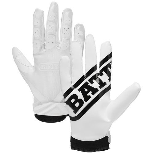 Battle Adults' Ultra-Stick Receiver Football Gloves