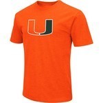 Colosseum Athletics Men's University of Miami Logo Short Sleeve T-shirt - view number 1