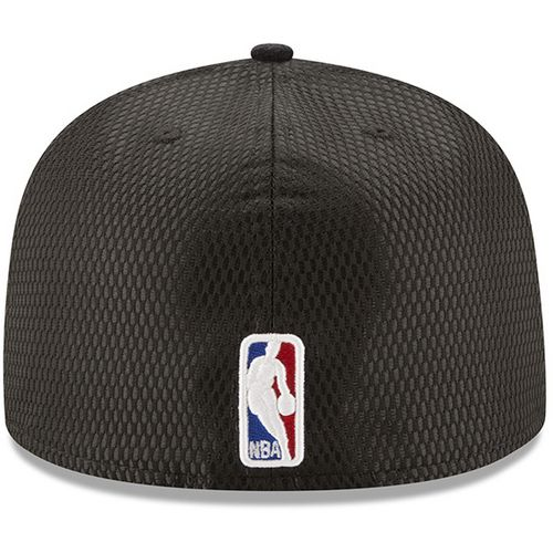 New Era Men's San Antonio Spurs 59FIFTY Team On Court Cap - view number 2