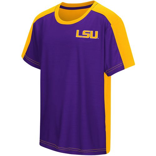Colosseum Athletics Boys' Louisiana State University Short Sleeve T-shirt