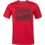 Nike Men's Dry Legend Swoosh Lines T-shirt - view number 1