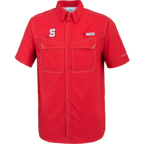Columbia Sportswear Men's North Carolina State University Low Drag Offshore Short Sleeve Shirt