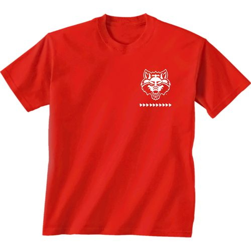 New World Graphics Women's Arkansas State University Terrain State T-shirt - view number 2