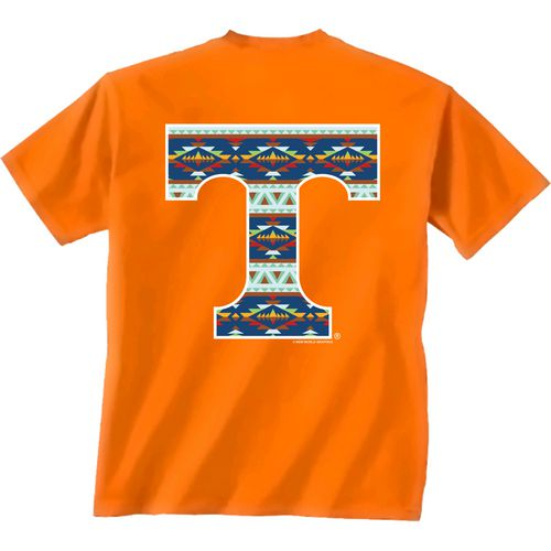 New World Graphics Women's University of Tennessee Logo Aztec T-shirt