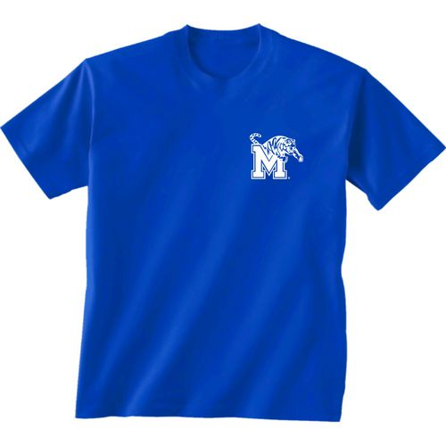 New World Graphics Women's University of Memphis Logo Aztec T-shirt - view number 2