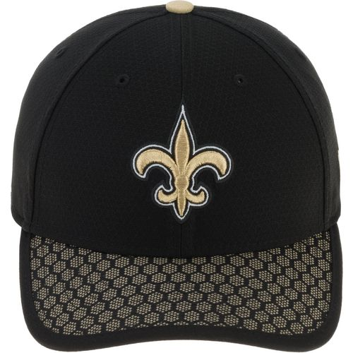 New Era Men's New Orleans Saints Onfield Sideline Team 2-Tone 39THIRTY Cap - view number 1