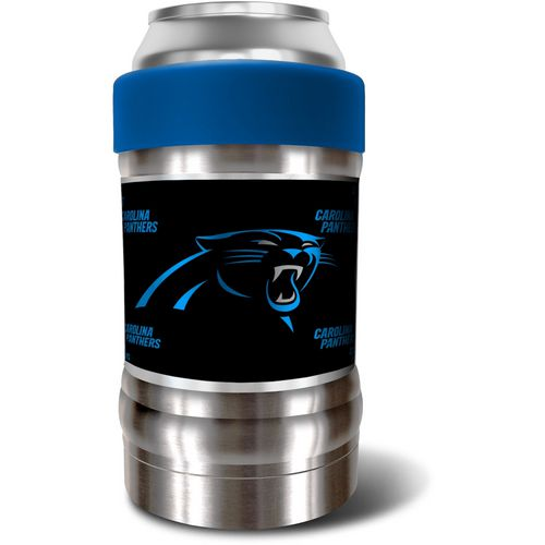 Great American Products Carolina Panthers LOCKER Dynasty Edition 12 oz Vacuum Insulated Can and Bott